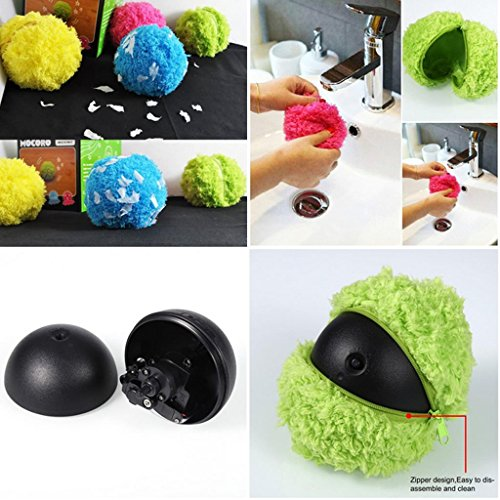 D DOLITY Automatic Rolling Ball Electric Dust Cleaner Mocoro Sweeping Robot Pet Toys by D DOLITY (Image #3)