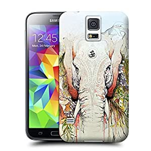 Unique Phone Case Elephants-07 Hard Cover for samsung galaxy s5 cases-buythecase