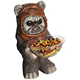 Rubies Costume 68504 Star Wars Classic Ewok Candy Bowl Holder Statue
