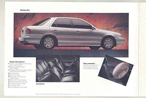 Amazon.com: 1994 Hyundai Elantra GLS Scoupe LS Turbo Excel GL GS Sonata GLS Brochure: Entertainment Collectibles