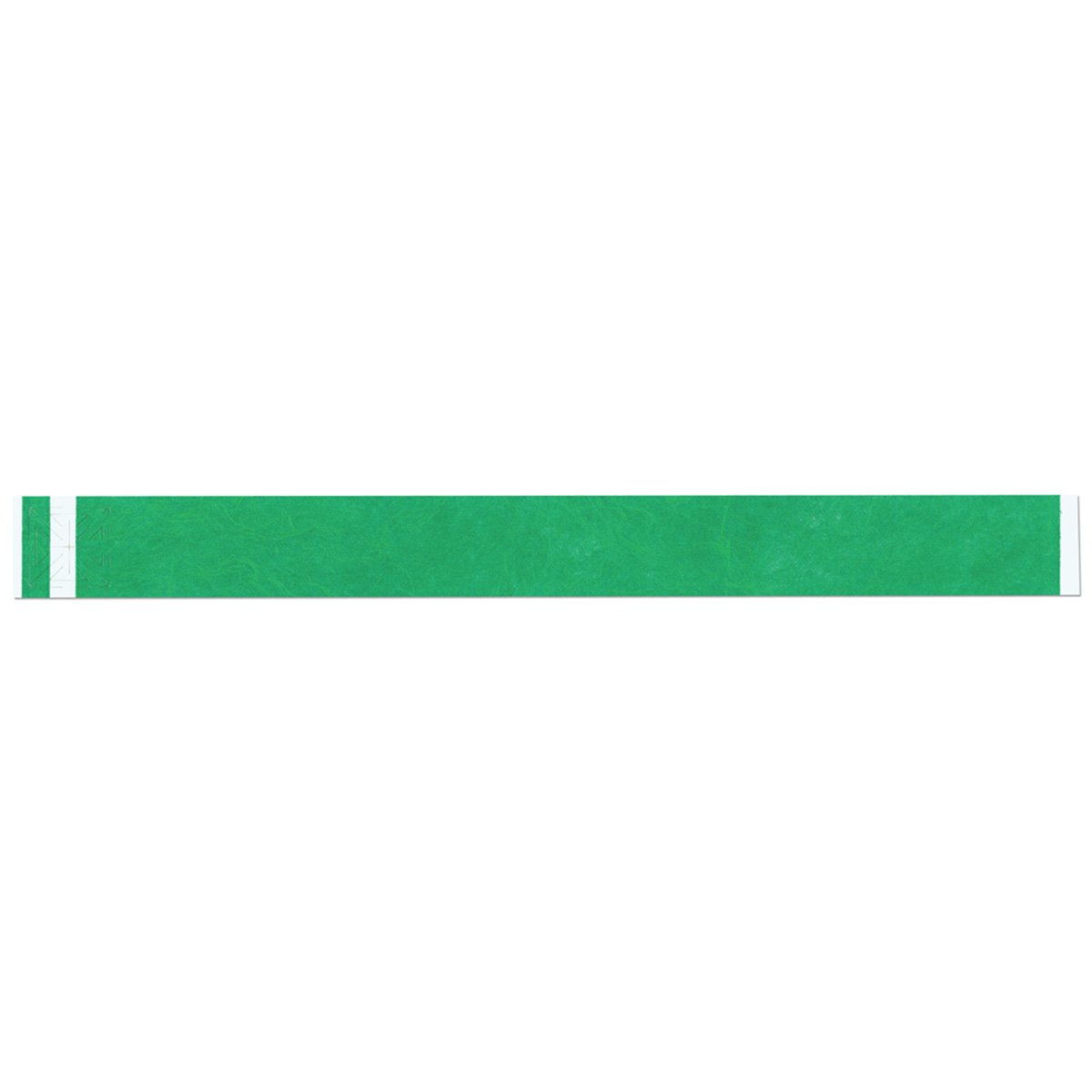 Short Stay 3005-22-PDR Write-On Wristband, Tyvek Antimicrobial, 1'' x 10'', Adult/Pediatric, Kelly Green (Pack of 1000)