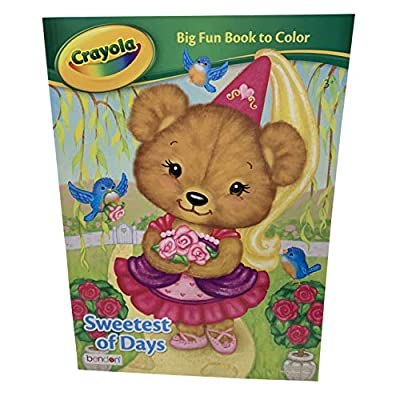 Crayola Kids Coloring Art Kit - Gift Set - Neon Glitter Classic Crayons Coloring Book Construction Paper Doodle Pad - Lots of Creativity for Little Ones! Birthday Christmas School Break: Toys & Games