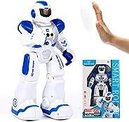 CYCPACK Robô de controle remoto infantil, robô de dança inteligente com alça de controle remoto, programável,