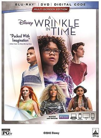 Amazon com: A Wrinkle in Time [Blu-ray]: Oprah Winfrey, Reese