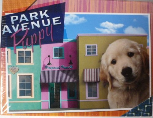 Park Avenue Puppy Children's Stationery Set with Stickers.