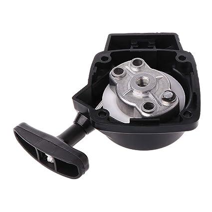 Manyo - Tirador de arranque para desbrozador/cabezal de corte/cortacésped lanzador de jardín 26 cc 1E34F Mitsubish CG260 BC260