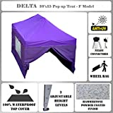 Cheap 10'x15′ Pop up Canopy Wedding Party Tent Gazebo EZ Purple – F Model Commercial Frame By DELTA Canopies