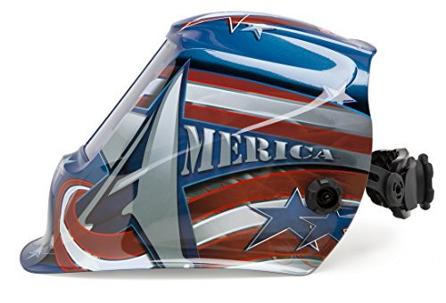 Lincoln Electric VIKING 2450 All American Welding Helmet with 4C Lens Technology - K3174-3 by Lincoln Electric (Image #2)