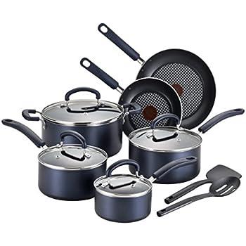 Bateria de cocina vasconia duracero 9 pzas 4037203 azul for Amazon bateria cocina
