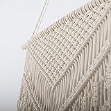 TIMEYARD Macrame Woven Wall Hanging - Boho Chic
