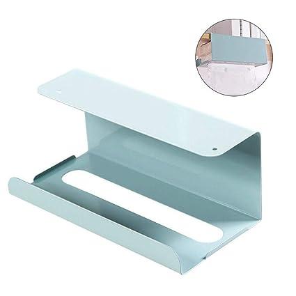 XISTORE - Soporte de Papel para Colgar Toallas de Papel higiénico, dispensador de Papel,