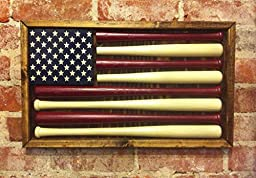 Baseball American Flag - Small