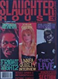 Fright Night 2, Linnea Quigley, & They Live Cover Slaughter House 1988 Magazine #1