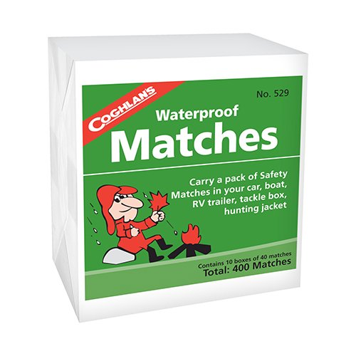 coghlans waterproof matches