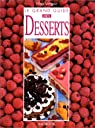 Le grand guide des desserts par Vergne