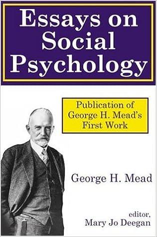 com essays on social psychology george essays on social psychology 1st edition