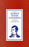 Choice of Burns's Poems and Songs, Robert Burns, 0571068359