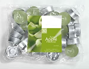 Apple Scented Tealight Candles Set of 30