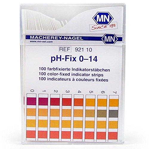 Macherey-Nagel 92110 0-14 pH Indicator Strips 100/Box by Macherey-Nagel