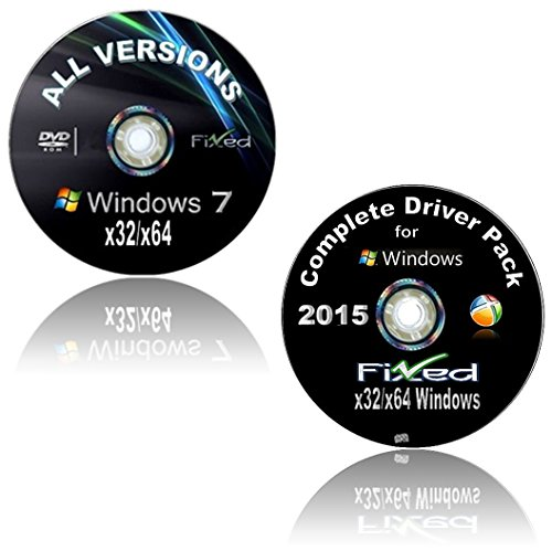 WINDOWS 7 Recovery Disc 32 & 64 Bit (All Versions)*NOW* w/Network Drivers added.Home Basic ~Home Premium~Pro...
