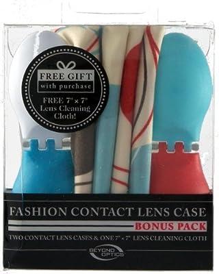 Beyond Optics Fashion Contact Lens Case Bonus Pack