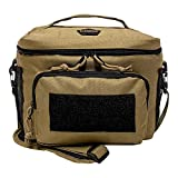 HSD Tactical Lunch Bag - Insulated Cooler, Lunch Box with MOLLE/PALS Webbing, Adjustable