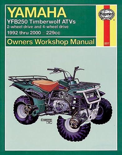 haynes motorcycle pb yamaha yfb250 timberwolf atv \u002792 00\u0027 (owners Yamaha ATV Cooling System