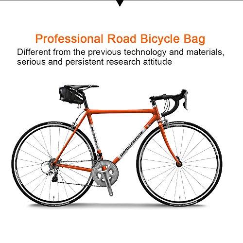 Roswheel Professional Road Bike Bag Bike Saddle Bag Bicycle Seat Storage Bags by Roswheel (Image #4)