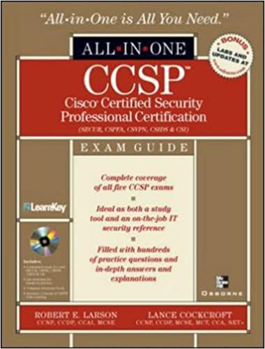 Book Cisco Security 1 Certification All-In-One Exam Guide