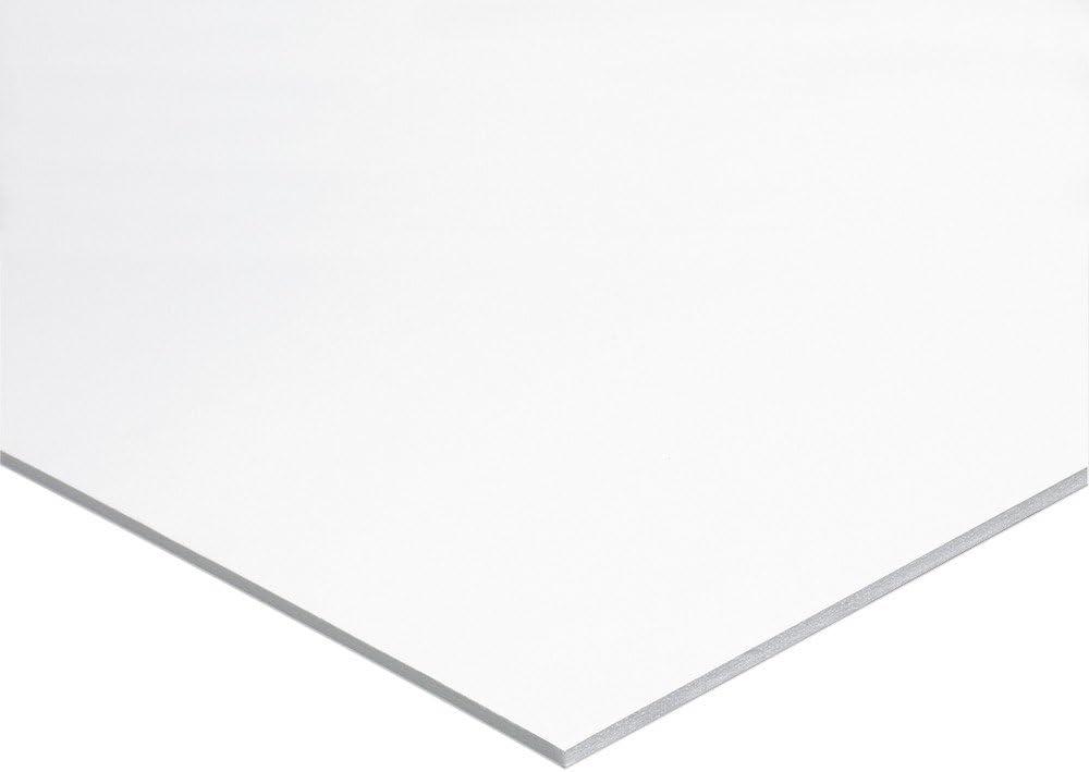 10 Boards//Carton POW Foam Board 22x28 White Surface with White Core