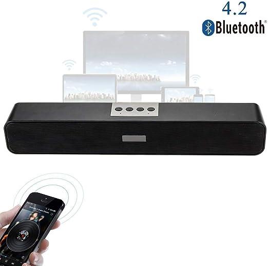 Speaker-EJOYDUTY Portátil estéreo Bluetooth USB Barra de Sonido ...