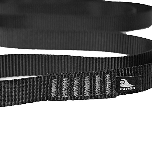 Fusion Climb Quickdraw Runner 5000 lbs Rated Stitched Loop Nylon Webbing 40cm x 1.7cm Black