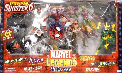 Price comparison product image Marvel Legends box Sinister Six [Toy & Hobby]