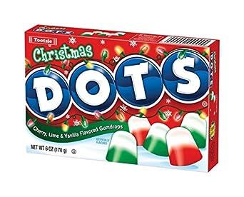 Amazon.com: Tootsie Roll Industries Llc Christmas Dots ...