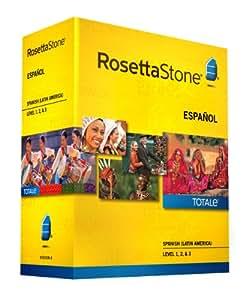 Rosetta Stone Spanish (Latin America) Level 1-3 Set