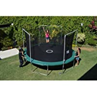 Bounce Pro 15-Foot Trampoline, with Electron Shooter Game (Green)