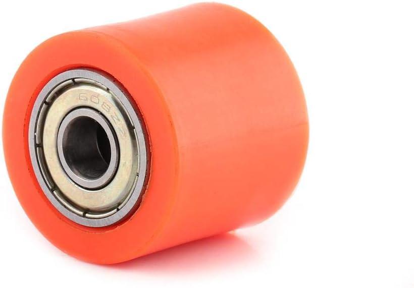 Fydun 8mm Motorrad Kettenrolle Orange color-8 MM 10mm Kettenrolle Rollenschieber Spanner Radf/ührung f/ür Street Bike Motorrad ATV