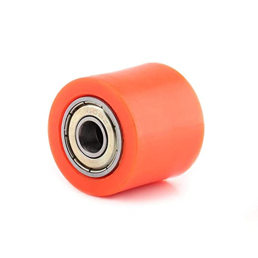 Anauto 8mm//10mm Drive Chain Pulley Roller Slider Tensioner Wheel Guide for Street Bike Motorcycle ATV 10MM-Blue