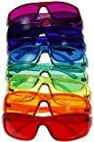 [3 Sizes Available] Kids Style Color Therapy Glasses - Set of 9 Colors, Sunglasses