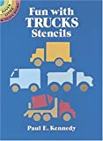 Fun with Trucks Stencils (Dover Little Activity Books)
