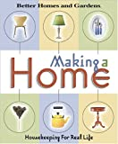 Making a Home, Better Homes and Gardens Editors, 069621203X