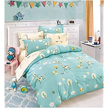 fairy quilt pink owls duvet unicorns itm covers throw horses girls without sets bedding kids horseshow