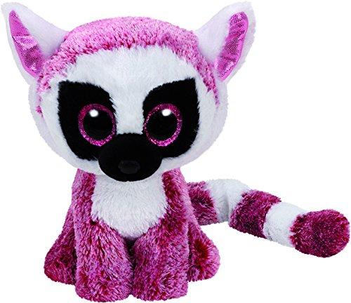 TY Beanie Boos LEEANN - pink lemur reg (Stuffed Body Parts)