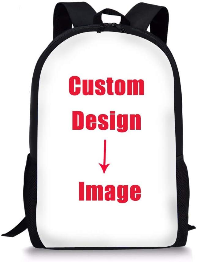 Infant Toddler Adults Kids Blue Personalised NameInitials Unisex Mini Lightweight Backpack Rucksack /& Adjustable Straps: Children