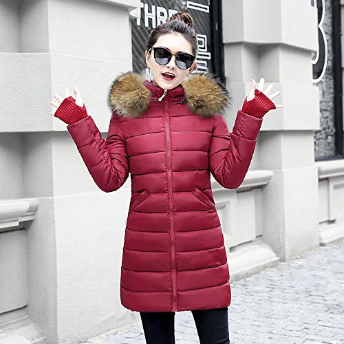 Donna Addensare Fxchen Xxl Da Giacca Caldo Top Plus Invernale Basic Cappotto Size Capispalla Parka qq0ptvd