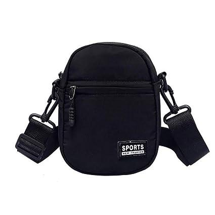 Pequeñas Bolsas de Mensajero Black One Size: Amazon.es: Equipaje