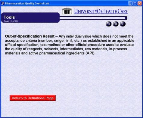 Pharmaceutical Quality Control Lab by University Of Health Care