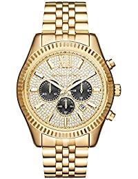 Men's Lexington Gold-Tone Watch MK8494