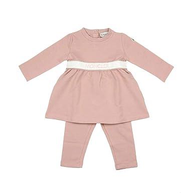 new product bb462 1231d Moncler Junior Abito Con Leggins Bambino Baby Girl Mod ...