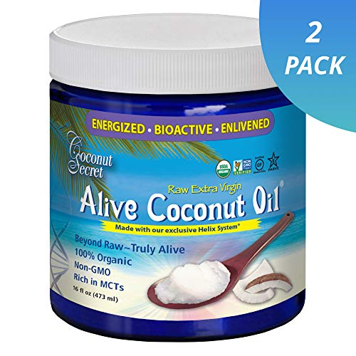 Coconut Secret Alive Oil Pack